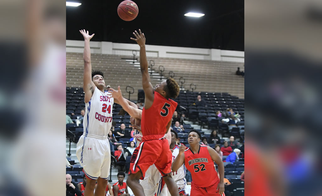 Westchester Steals Win Over Scott County – Beach Ball Classic